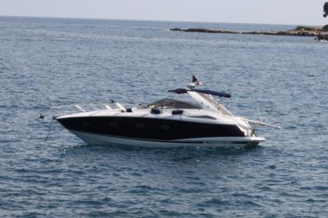"""The Portofino 35 """"PARADIGM"""", previously berthed in Corfu, has sailed with her new owners to Turkey"""