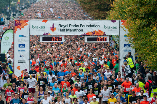 The next challenge for members of the #SunseekerSprinters team will be the London Royal Parks Foundation Half Marathon in October!