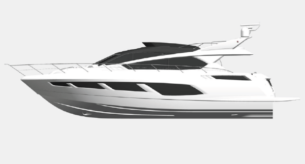 We've seen plans for the all-new Manhattan 65 in recent months, which will make her WORLD DEBUT at Southampton