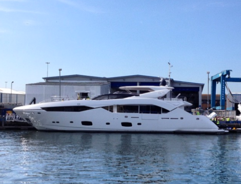 """Sunseeker London has announced the sale and completion of the 115 Sport Yacht """"NO 9"""""""