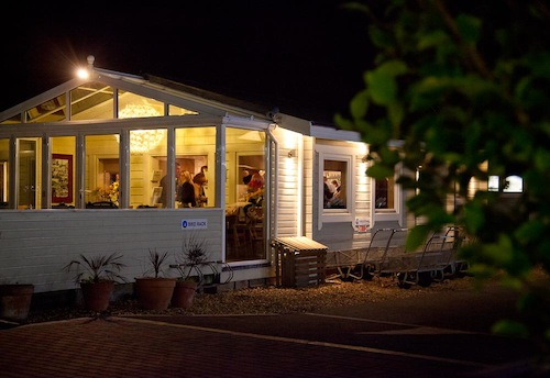 The South Deep Café at Parkstone Bay Marina has quickly become a local favourite both day and night
