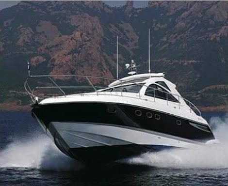 """The Fairline Targa 47 """"JEAN MARIE"""" was delivered to Ayvalik, Turkey, from Mytilini, Greece by Sunseeker Hellas"""