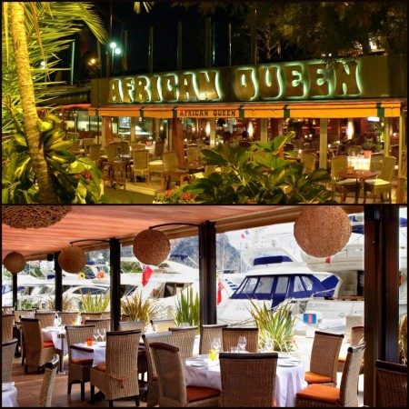 The African Queen has long been an iconic culinary location in Beaulieu-sur-Mer