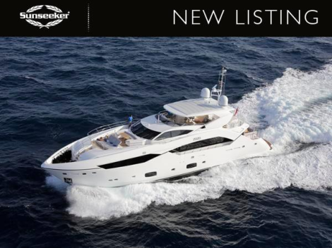 """Sunseeker London have announced their appointment as Central Agents for the 115 Sport Yacht """"ZOZO"""""""
