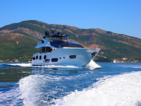 """Skip the waiting list: The Sunseeker 28 Metre Yacht """"ANYA"""" is the only model on the brokerage market"""