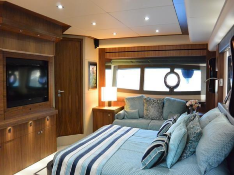 """In immaculate condition, with only private use, the 28 Metre Yacht """"ANYA"""" is a fantastic opportunity on the brokerage market this season"""