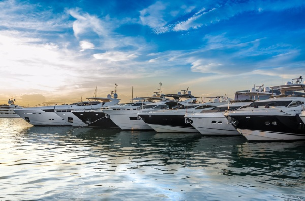 A total of 24 Sunseeker yachts were present in Port Canto for the inaugural Sunseeker Rendez-vous
