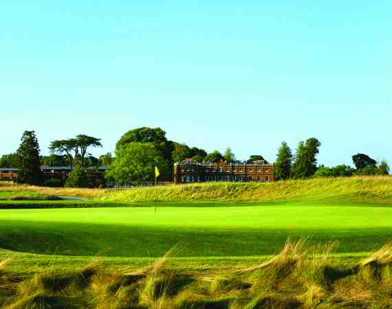 The Grove Hotel features a championship 18 hole golf course