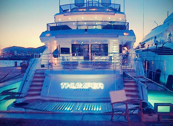 """""""THUMPER"""" boasts some never-seen-before features on a Sunseeker, with interior and deck customisations"""