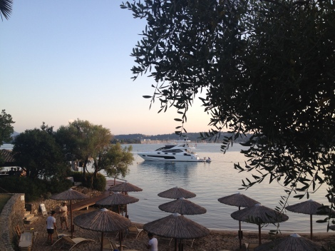 """FINEZZA"" has proved a popular charter boat since her arrival in Corfu earlier this #SunseekerSeason"