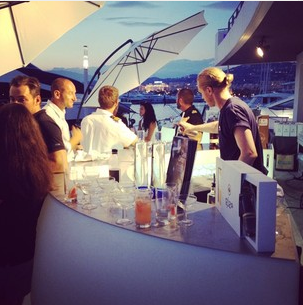 Cocktails were crafted by award-winning mixologists at the Sunseeker Rendez-vous, with guests enjoying the likes of 'The Rendezvous' and the 'Paloma'!