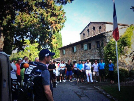 60 guests attended the Sunseeker Open Golf Tournament at Cannes Mougins GC as part of the Sunseeker Rendez-vous