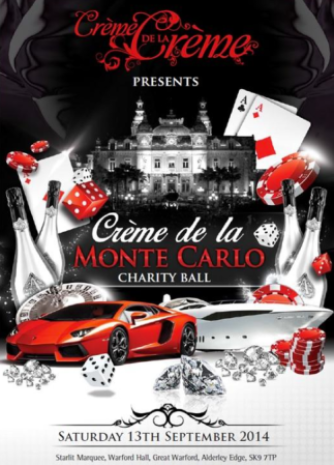 Attend this year's Crème de la Crème Ball with Sunseeker Cheshire