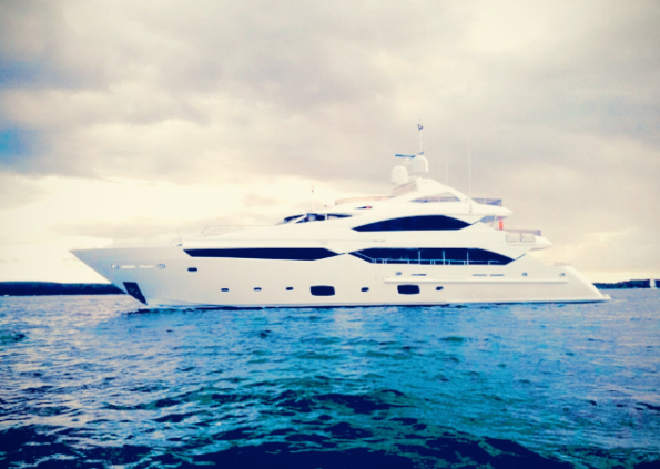 """""""THUMPER"""" will be on display with Sunseeker at the Monaco Yacht Show"""