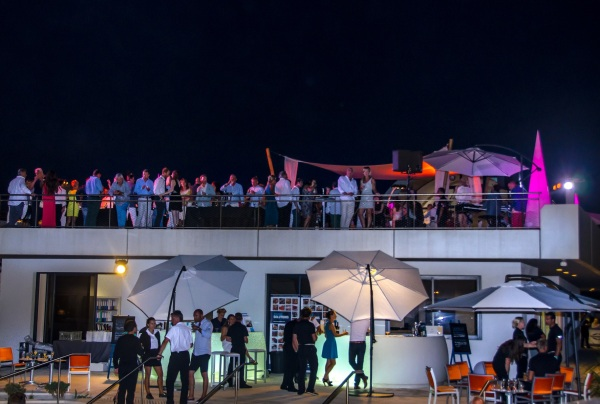 Music pumped from the Capitanerie Sky Lounge as guests enjoyed the true Sunseeker hospitality at this season's best party - #DoYouRendezvous?