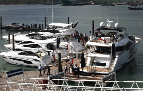 The Southampton Boat Show has been a busy event for Sunseeker