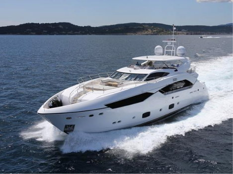 """The Sunseeker 115 Sport Yacht – """"ZOZO"""" appeals to all tastes"""