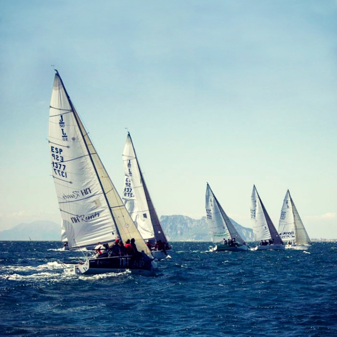 Sunseeker Andalucia sponsored the J80 Class Sailing Championships in Sotogrande