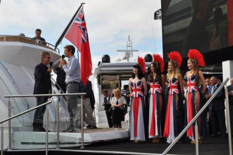 Sunseeker owner Eddie Jordan will join Robert Braithwaite at the 2014 Southampton Boat Show