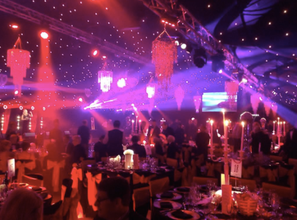 The Creme de la Creme ball was held in aid of Caudwell Children