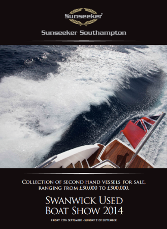 The Swanwick Used Boat Show is an excellent opportunity to view boats for sale locally to Southampton