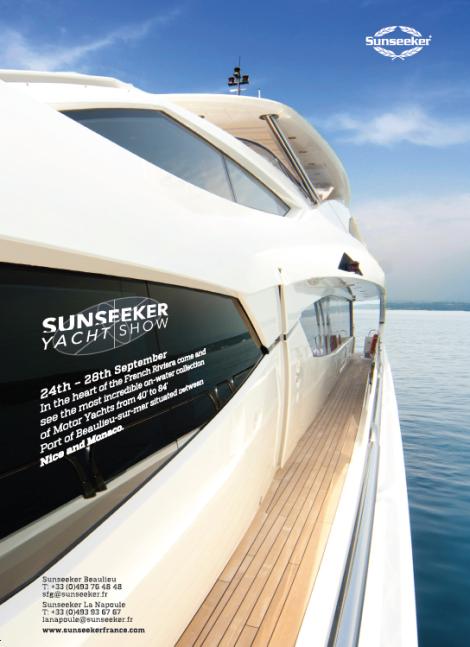 Sunseeker Yacht Show: September 24th to 28th, Beaulieu