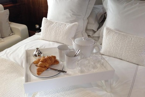 Stunning quality linens and cushions add to the Sunseeker luxury feel