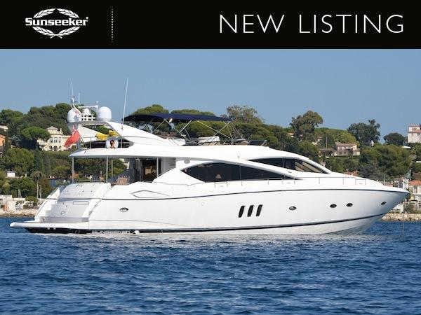 "Sunseeker Poole has listed the 2004 Sunseeker 75 Yacht ""SOMETHING DIFFERENT"" for sale"