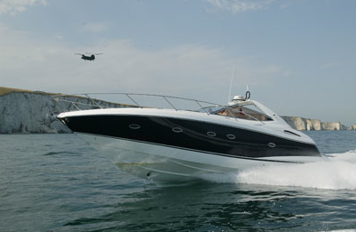 The Portofino 46 is a popular express cruiser, with ample accommodation inside and out