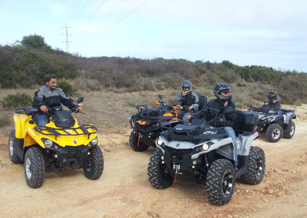 The Sotogrande BRP day included an all-terrain test drive