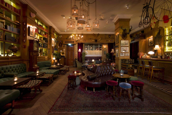 DRINK: Mr Fogg's, 15 Bruton Lane, Mayfair, London, W1J 6JD