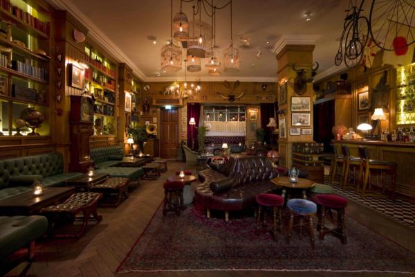 DRINK: Mr Fogg's, 15 Bruton Lane, Mayfair, London, W1J 6JD