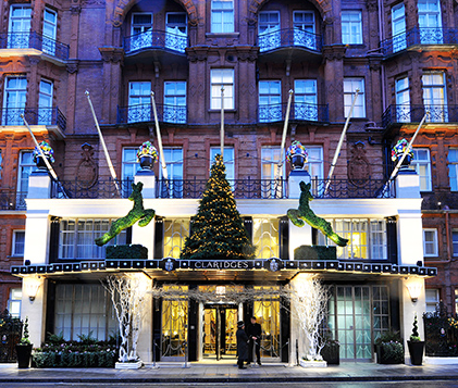 SLEEP: Claridge's, 49 Brook St, Mayfair, London, W1K 4HR