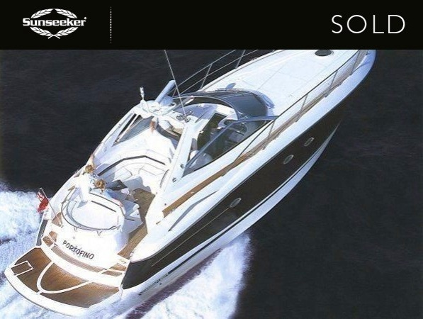 "Sunseeker Hellas have confirmed the sale of the Sunseeker Portofino 46 ""MINI YACHT"""