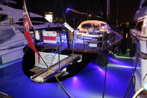 """The Oyster 82 """"RAVEN"""" was the star of the show for Sunseeker Mallorca"""