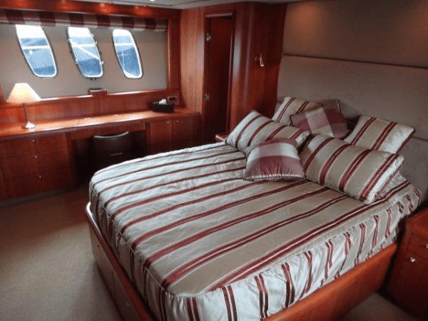 """The 75 Yacht """"COQUINE"""" offers excellent accommodation for up to 8 guests"""