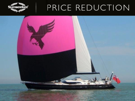 """For sale with Sunseeker Mallorca, the Oyster 82 """"RAVEN"""" is asking £3,295,000 ex VAT"""