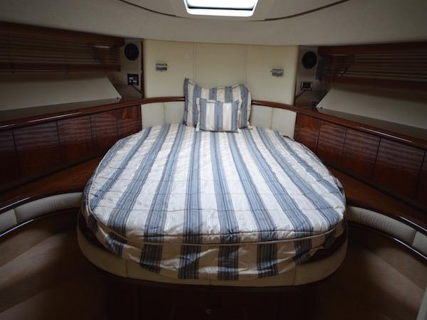 3 cabins accommodate 6 guests, including a forward Master Cabin, port Double and Starboard Twin Arrangement