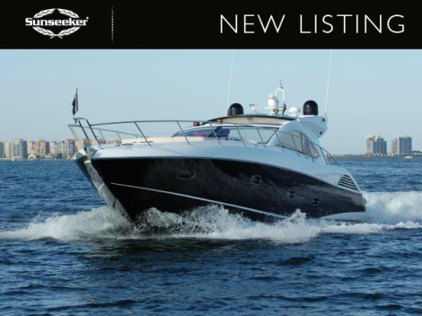 """Sunseeker Monaco have listed the 2010 Sunseeker Predator 54 """"JUST"""" for sale, asking £550,000 VAT paid"""