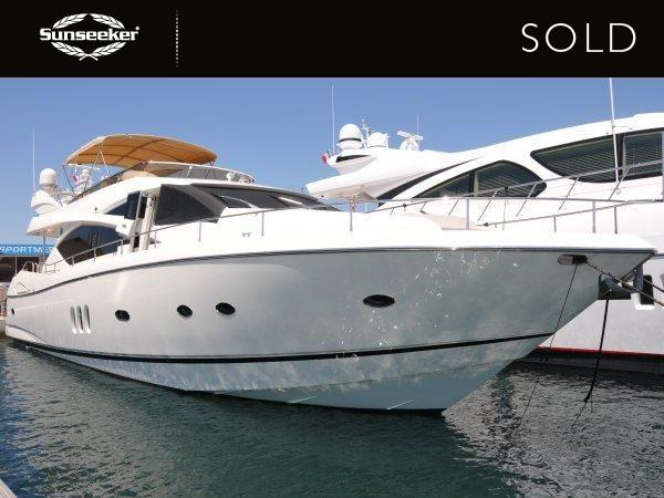 "Sunseeker Cannes have sold the Sunseeker 75 Yacht ""COQUINE"""
