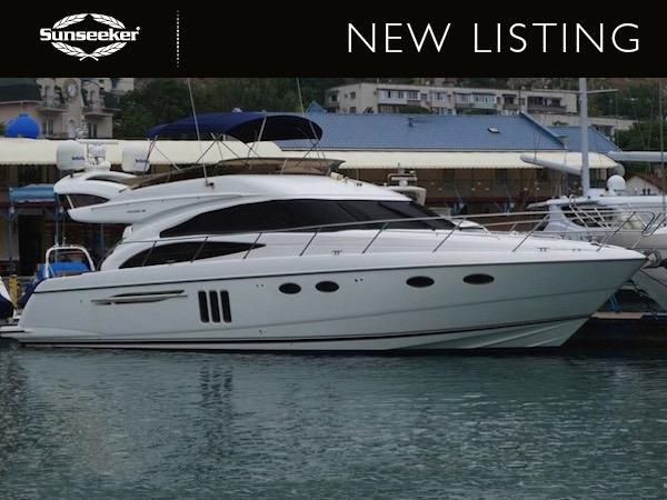 "Sunseeker France have announced their new Central Listing, the Princess 58 Flybridge ""ECLIPSE"" asking $880,000 and lying in Montenegro"