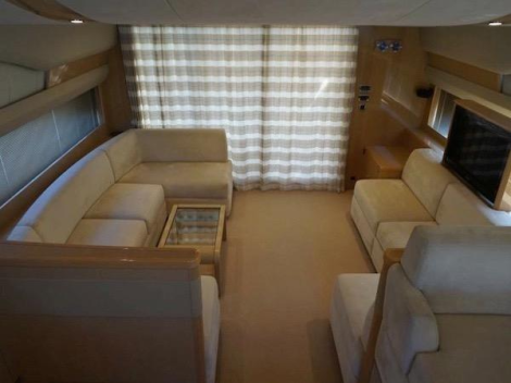 """""""ECLIPSE"""" offers a spacious Saloon area to accommodate guests onboard"""