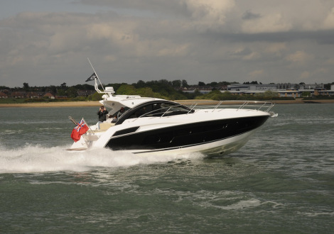 Sunseeker Southampton are delighted to announce the completion and delivery of this new Portofino 40 - available to charter on the Solent from Spring 2015. Photo: MBY