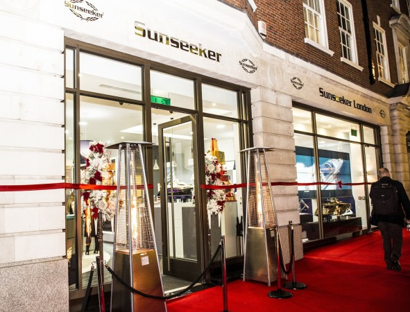 "Sunseeker London hosted ""The Mayfair Luxury Party"" alongside a collection of luxury brands located on Davies Street"