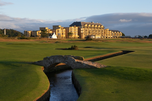 Sleep: The Old Course Hotel, Golf Resort & Spa, St Andrews, Kingdom of Fife, Scotland, KY16 9SP