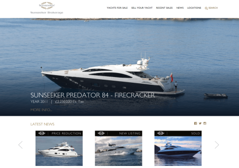 Sunseeker Brokerage is actively looking to market your pre-owned vessel