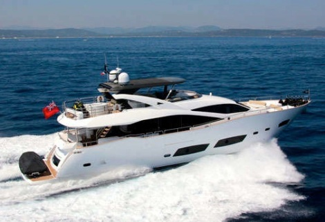 """Sunseeker London have been appointed Central Agents for the Sunseeker 28 Metre Yacht """"TOMMYBELLE"""""""