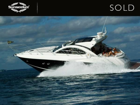 "The Sunseeker Portofino 48 ""JUJU"", sold by Sunseeker Torquay and Sunseeker Poole, has been delivered to her new owners in Devon"