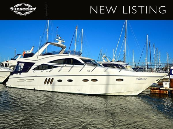 "Sealine T60 ""VICTORIA"" listed by Sunseeker Southampton"