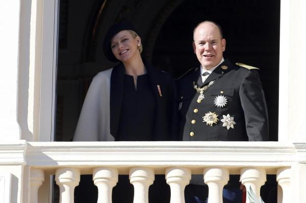 Prince Albert II and Princess Charlene of Monaco have announced the birth of their twins, Gabriella and Jacques  (AFP Photo/Valery Hache)